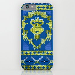 Ugly Sweater 1 iPhone Case