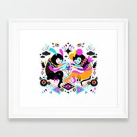 hocus pocus Framed Art Prints featuring Hocus Pocus! by Muxxi