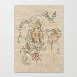 I don´t want promises Canvas Print
