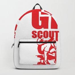 GIRL SCOUT LEADER Backpack