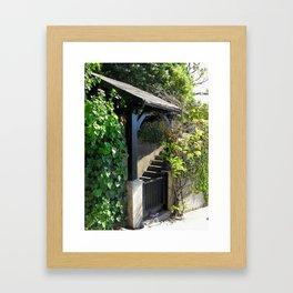 Entry Framed Art Print