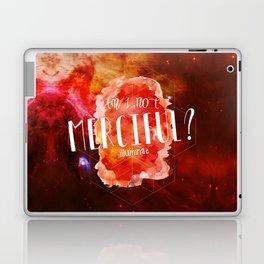 Am I Not Merciful (Illuminae) Laptop & iPad Skin