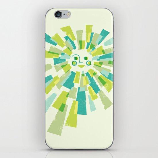 Modern Sunburst iPhone & iPod Skin