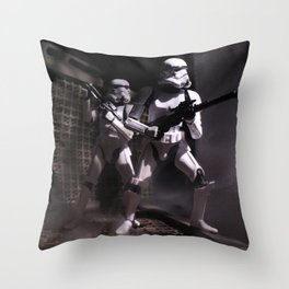 Boarding Party Throw Pillow
