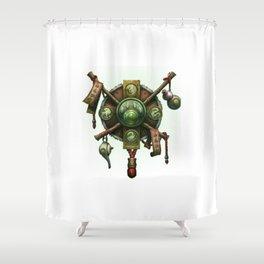 Monk Sigil Shower Curtain
