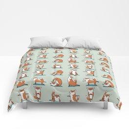 Fox Yoga Comforters