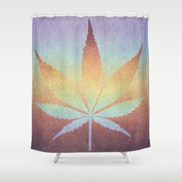 Somewhere over the rainbow, way up high Shower Curtain