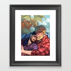 William and Theodore 31 Framed Art Print