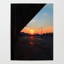Sunrise, Montmorency Station Poster