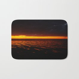 Caye Caulker Sunset Bath Mat