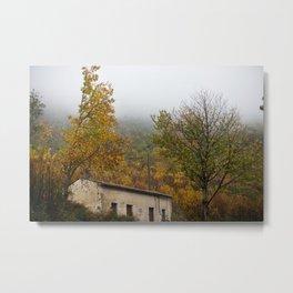 Trecchina - Autumn landscape Metal Print