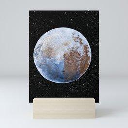 Blue Mars Planet Mini Art Print