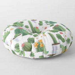 Succulent Cacti Floor Pillow
