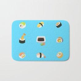 Sushi Pattern Bath Mat
