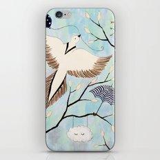 Bird and Balloon iPhone & iPod Skin