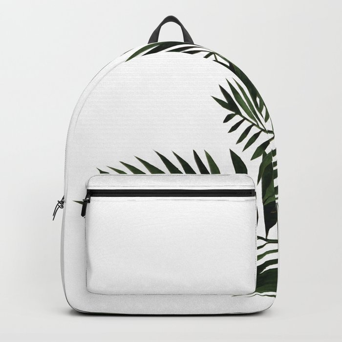 Tropical Exotic Palm Leaves I Backpack