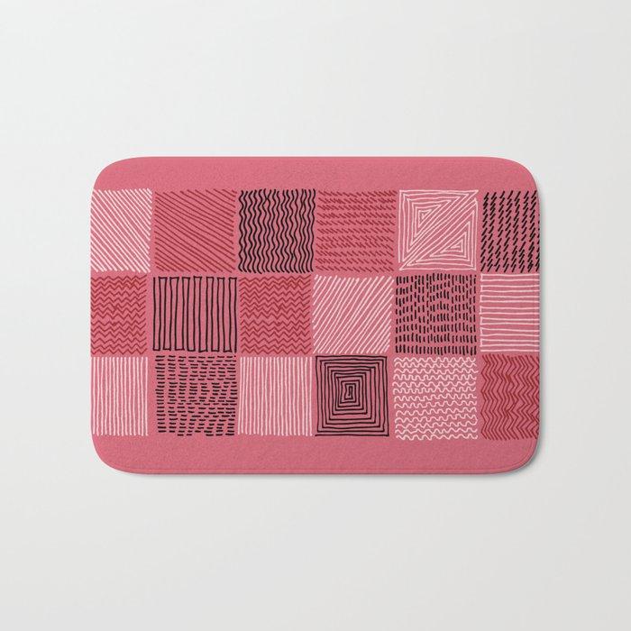 stitches Bath Mat