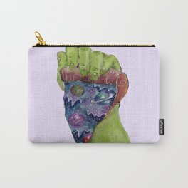 space galaxy pizza Carry-All Pouch