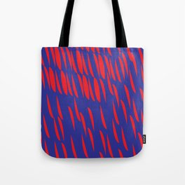 BLUE AND RED Tote Bag