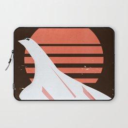 Concorde vintage travel poster Laptop Sleeve