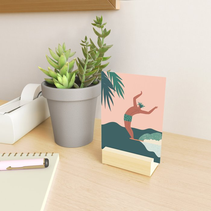 Go with a flow Mini Art Print