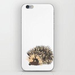 Little Hedgehog iPhone Skin