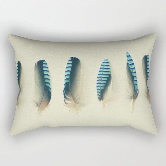 Feathers #1 Rectangular Pillow