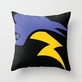 Speedy Thunder Storm Throw Pillow