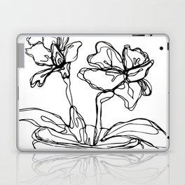 Mason Jar Flowers Laptop & iPad Skin