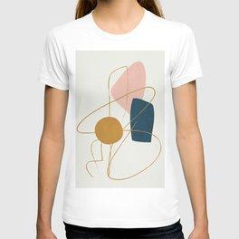 Minimal Abstract Shapes No.46 T-shirt