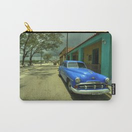 Vintage Plymouth at Cojimar Carry-All Pouch