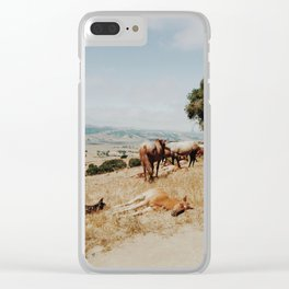 Nap Time Clear iPhone Case