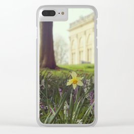 Country House meadow Clear iPhone Case