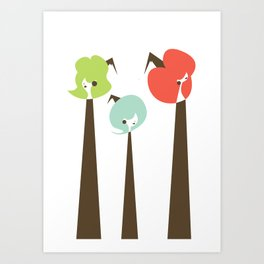 Three Witches Observe Art Print