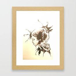 golden touch Framed Art Print