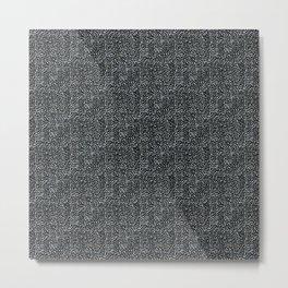 Day 070 | #margotsdailypattern Metal Print