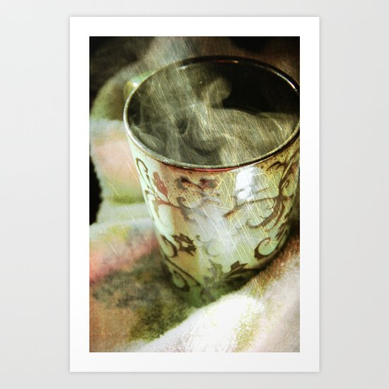 Relaxation two Art Print