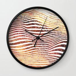 Super Sedimentary Wall Clock