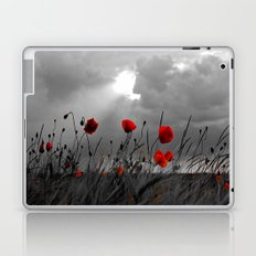 Only poppies... Laptop & iPad Skin