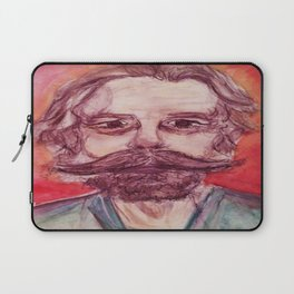 Bob Weir Watercolor Portrait Grateful Dead Laptop Sleeve
