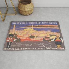 Vintage poster - Europe Rug