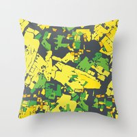 thailand Throw Pillows featuring Thailand by The Happy Scientist