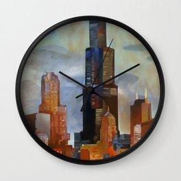 Sears Tower Wall Clock