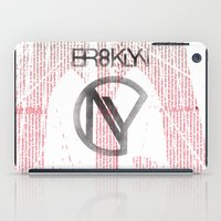 brooklyn iPad Cases featuring BROOKLYN by designgraphics
