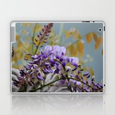 Wisteria - photography Laptop & iPad Skin