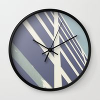 building Wall Clocks featuring building by dv7600