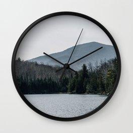 Heart Lake Wall Clock