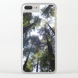 Look Up so FAR up Clear iPhone Case