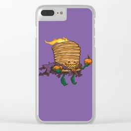 Captain Scarecakes Clear iPhone Case