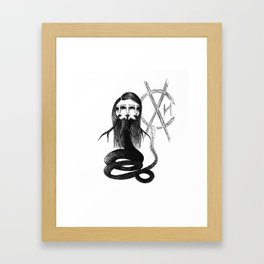 Envy Queen Framed Art Print